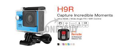 GoPro Murah Jenama GOQ H9R 4K EKEN Action Camera
