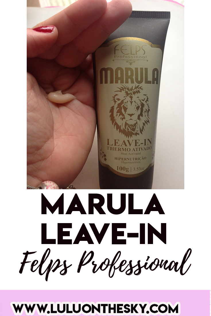 Felps Profissional Marula Leave-in Thermo Ativado