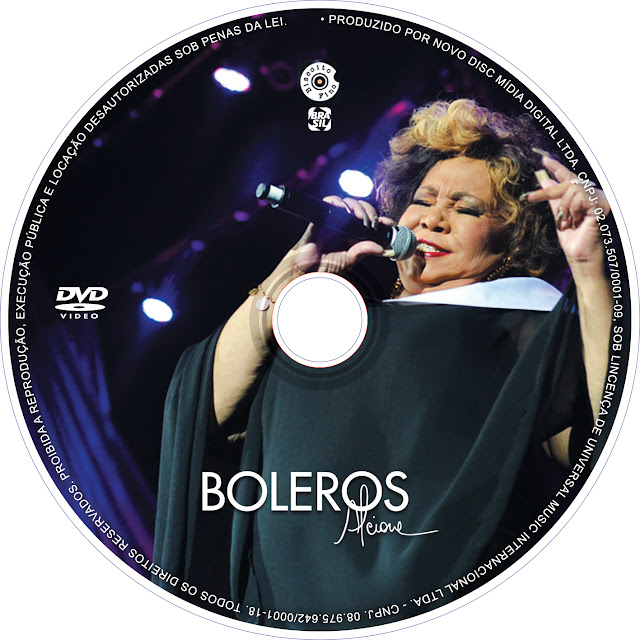 Label DVD Alcione Boleros