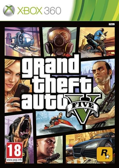 Grand Theft Auto 5 Xbox 360 Espanol Region Free Xgd3