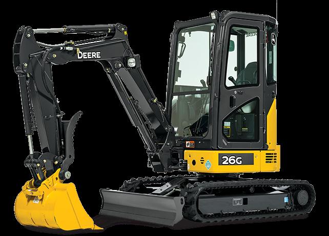 John Deere Excavators 26G
