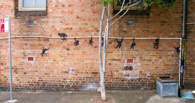 Arte urbano fantástico