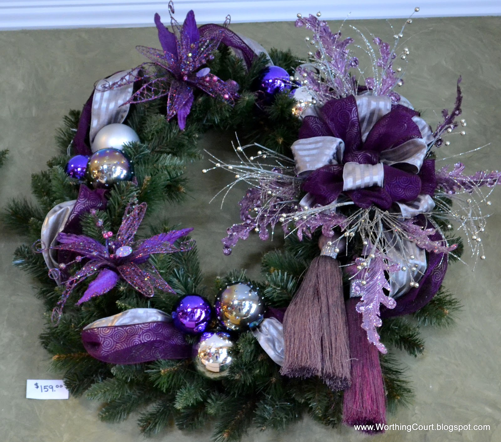 Purple And White Christmas Tree: Designer's Christmas Decorating Tips
