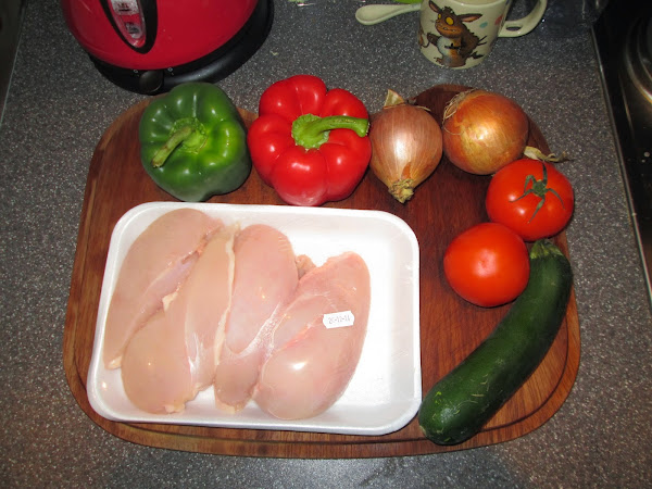 Cooking from Scratch – Paprika Chicken