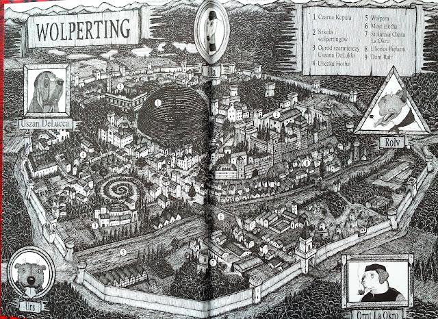 Mapa na wyklejce