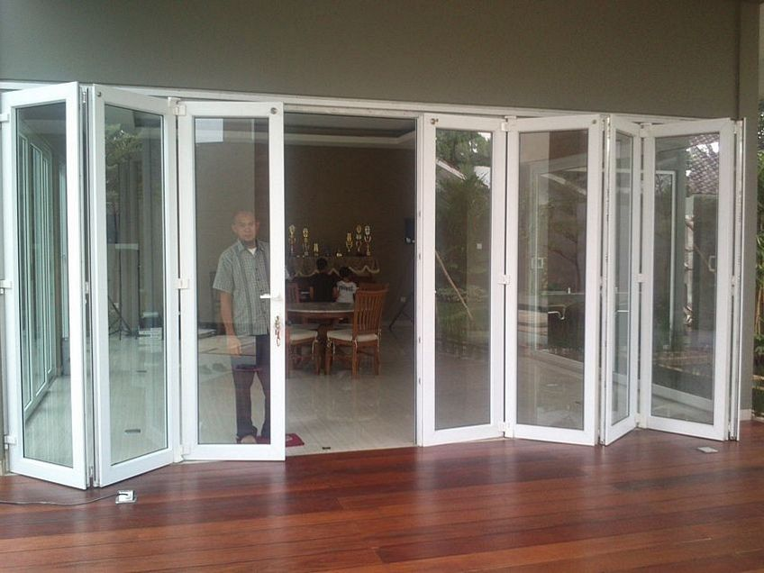 pintu dorong aluminium 2