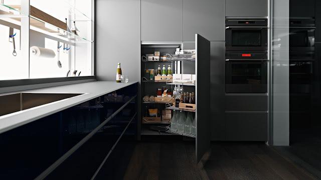 Как увеличить объем полезного пространства на совершенной кухне?