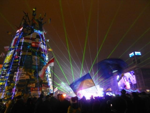 Киев. Новый год 2014
