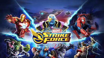 لعبة MARVEL Strike Force للأندرويد، لعبة MARVEL Strike Force مدفوعة للأندرويد