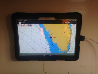 Navigating with OpenCPN on an Android Tablet - Sailfeed