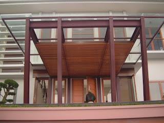 Model Kanopi Kayu Teras Depan Rumah 1