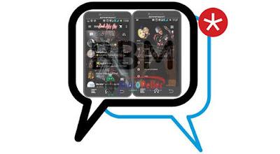 BBM Tema Devil May Cry v.2.13.1.14 Apk Terbaru