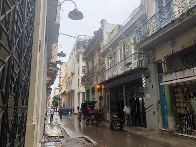La Habana Vieja. Calle Oreilly
