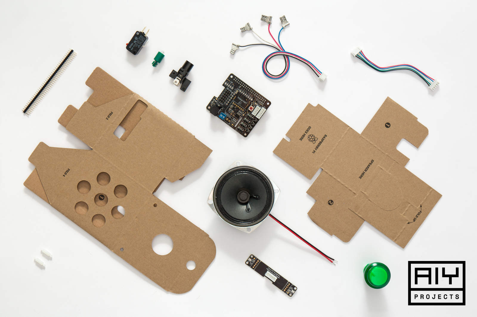 android robot speaker instructions
