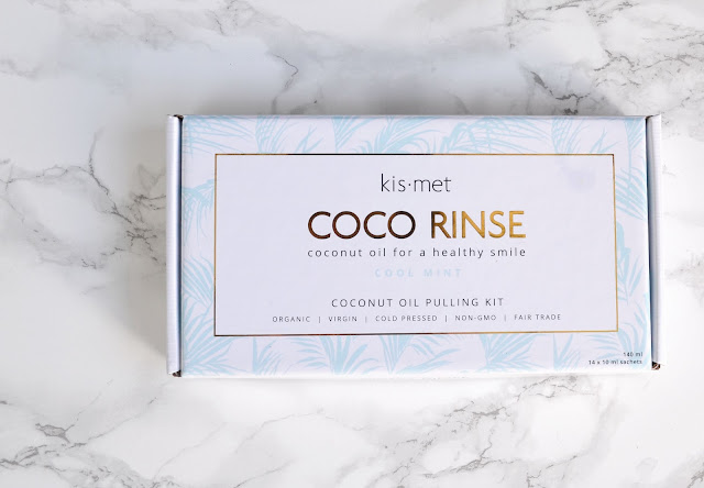HEALTH | My First Time Oil Pulling with Kismet Essentials Coco Rinse
