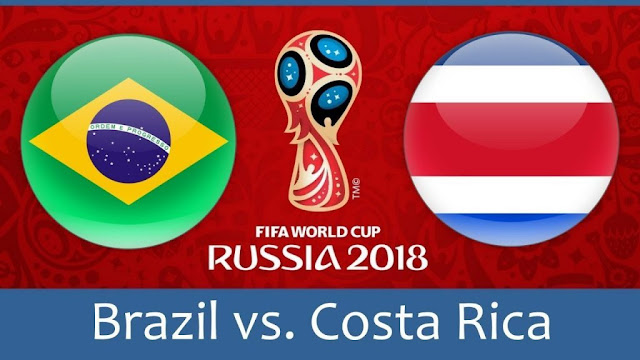 Brazil vs Costa Rica Full Match Replay 22 June 2018