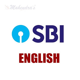 English Language For SBI Clerk | 06- 07 - 18
