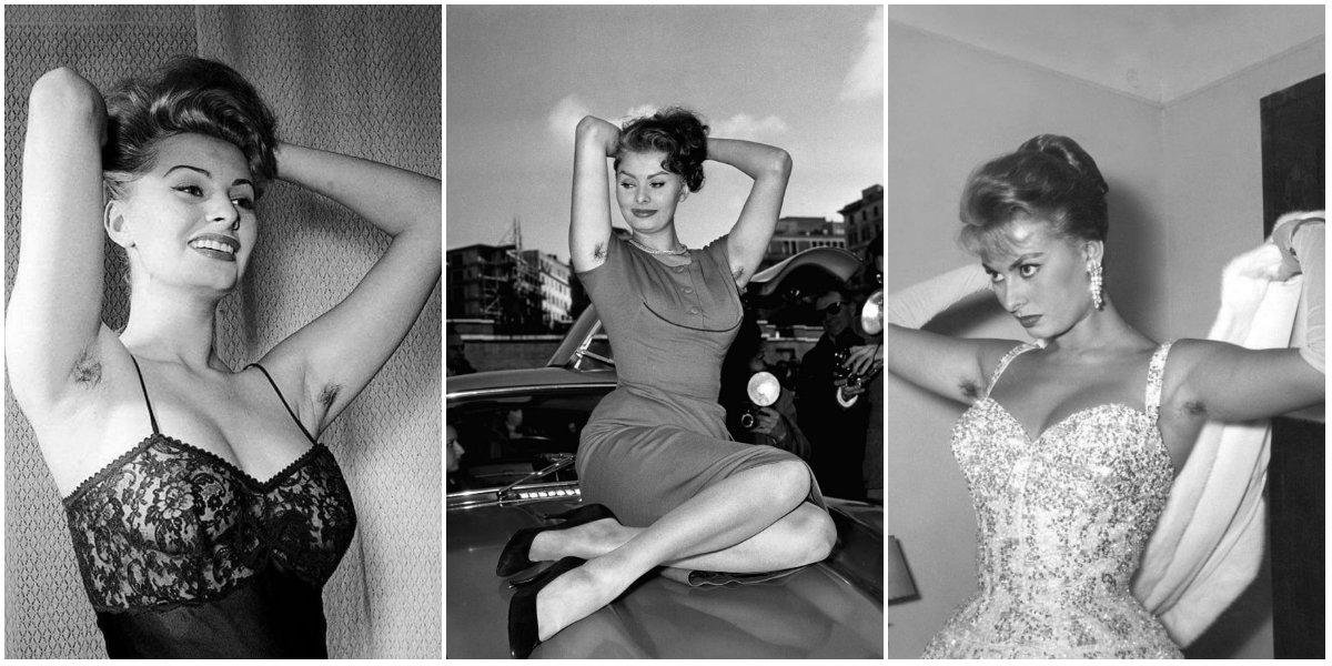 Sophia Loren Can Make Even Visible Armpit Hair Seem Sexy
