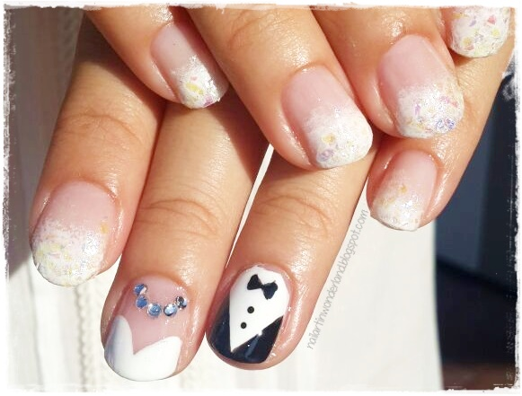 Wedding Party Nail Art