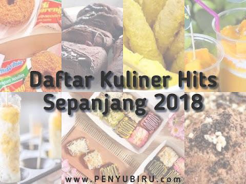 Inilah 7 Kuliner yang Hits Sepanjang Tahun 2018