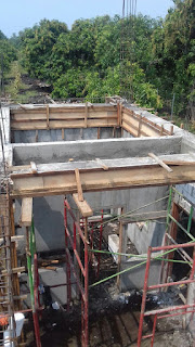 Menghitung Cor Dak Beton per m2 tebal 12cm