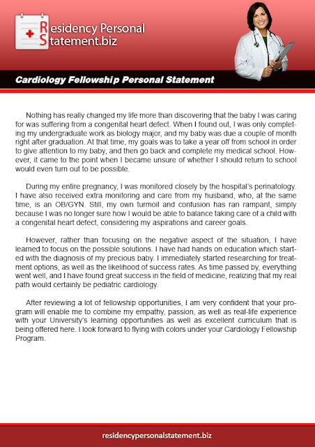 Residency Personal Statements Tips