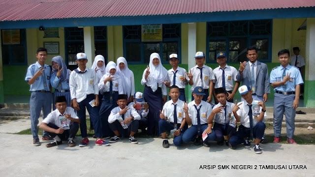 Sosialiasi PSB SMK N 2 Tambusai Utara di SMPN 13 Satap Tambusai Utara (2)