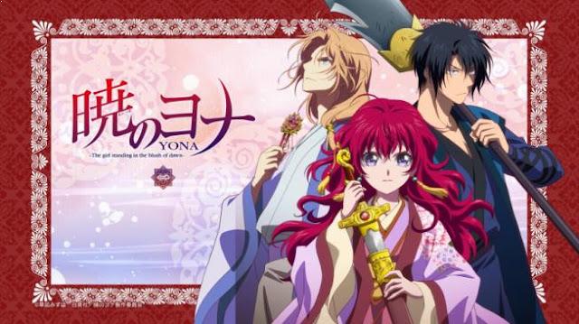 Akatsuki no Yona - Anime Tentang Perang Terbaik dan Terkeren (Dari Jaman Kerajaan sampai Masa Depan)