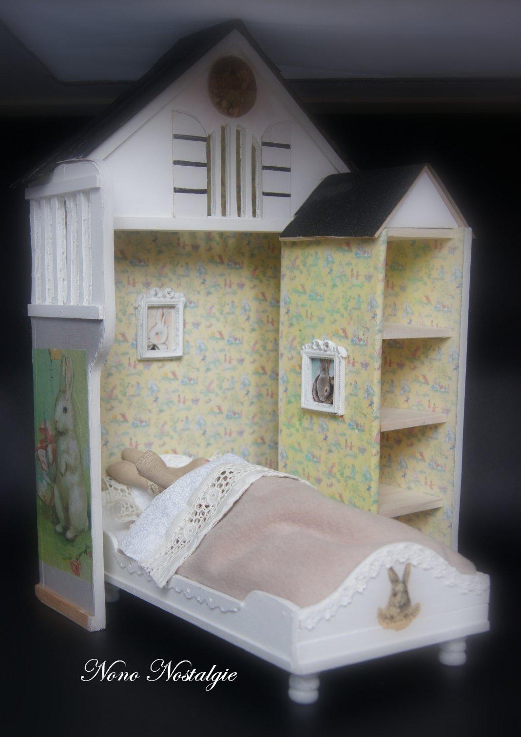 Nono mini nostalgie coin de chambre pour lapin calin for Chambre pour