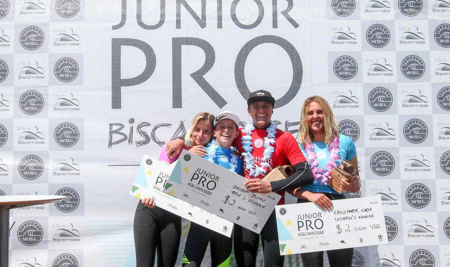 2018 Junior Pro Biscarrosse Champions Crowned on Epic Sunday in Biscarrosse