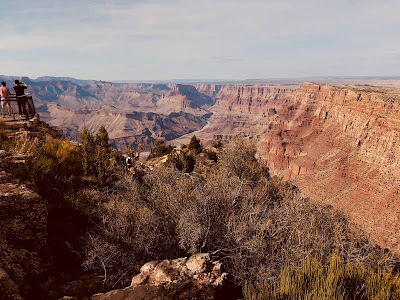 View from Desert View Watchtower, Grand Canyon.
