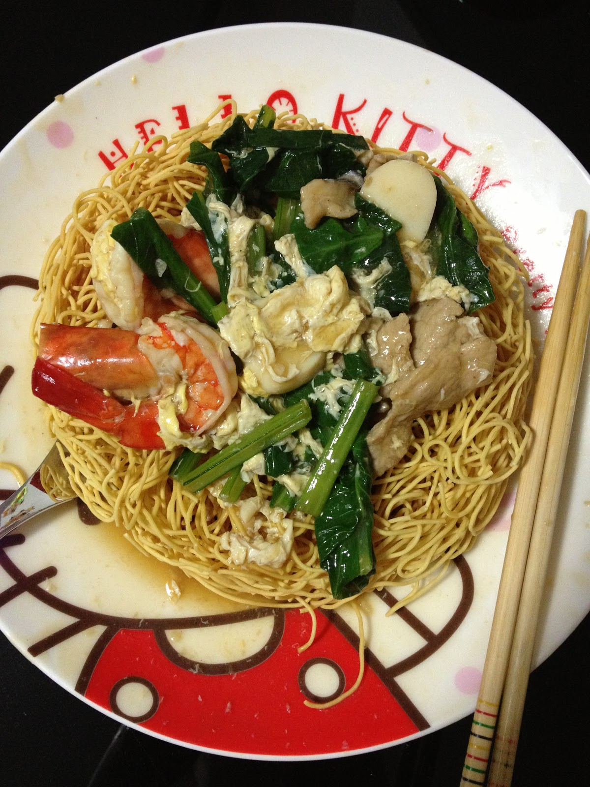 My Time In The Kitchen Zi Char Style Noodle Sheng Mian