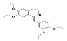 Structure of Drotaverin.HCl