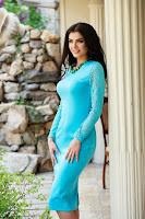 Rochie StarShinerS Splendor Turquoise (StarShinerS)