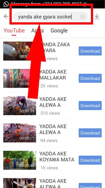 YADDA AKE SAUKAR DA VIDEO DAGA YOUTUBE