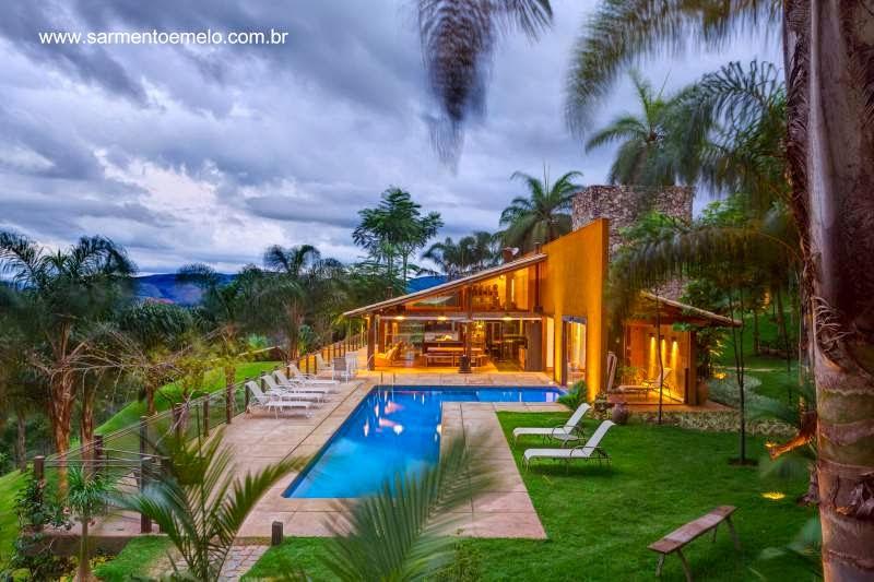 Casa de campo moderna en Minas Gerais, Brasil