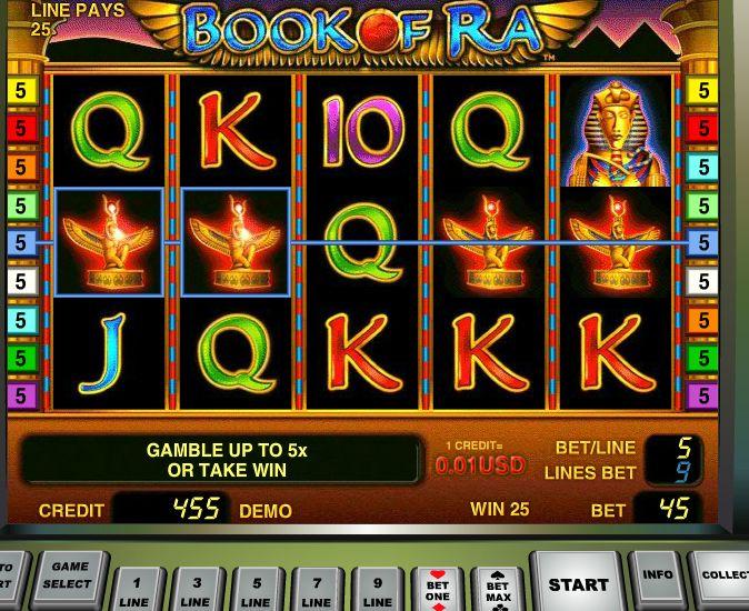Book Of Ra Casino Listing