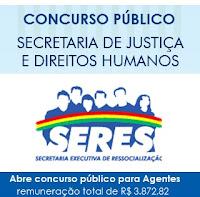 Concurso Secretaria de Justiça e Secretaria de Ressocialização de PE