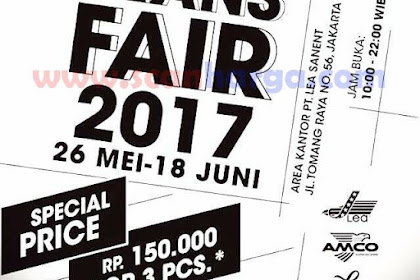 Lea Jeans Fair 2018 Beli 3 Celana Lea Rp 150 Ribu Promo Terbaru