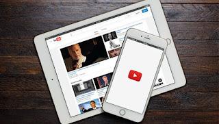 imagenes del nuevo diseño de youtube en android