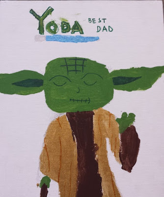 7 Quick Takes about a Flaming Grand Finale, Creepy Toys, and Father's Day Compliments from Yoda  {posted @ Unremarkable Files}