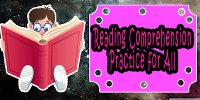 english reading comprehension practice