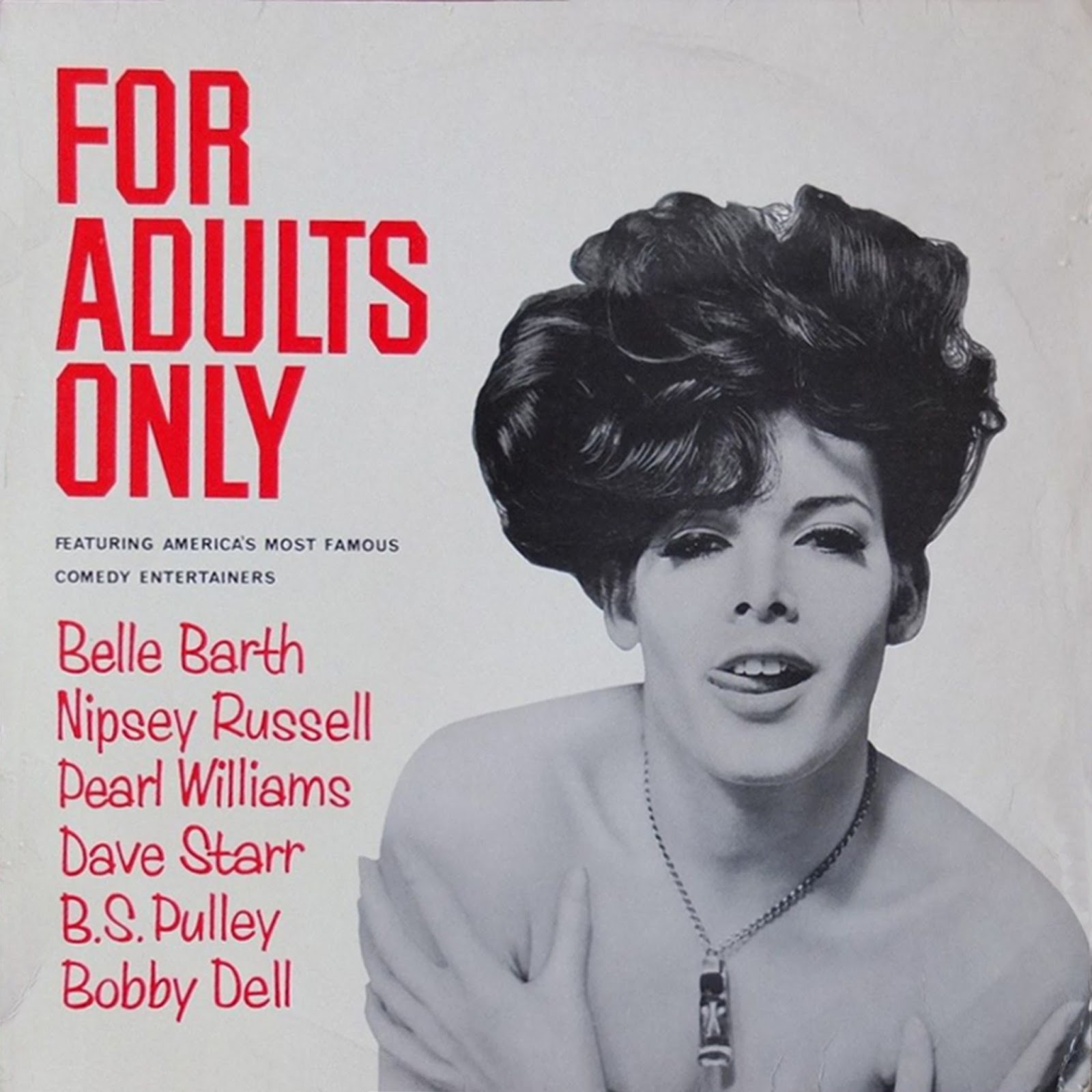 Adults Only 21 Up: Vintage Stand-up Comedy: Belle Barth