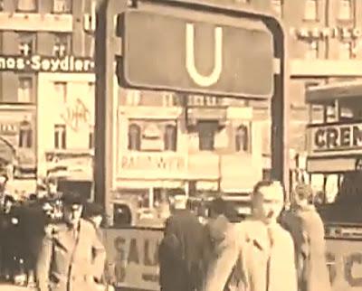 station metro berlin 1934