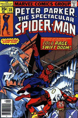 Spectacular Spider-Man #18, Iceman and the Angel