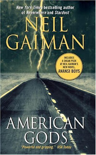 AMERICAN GODS - BOOK COVER