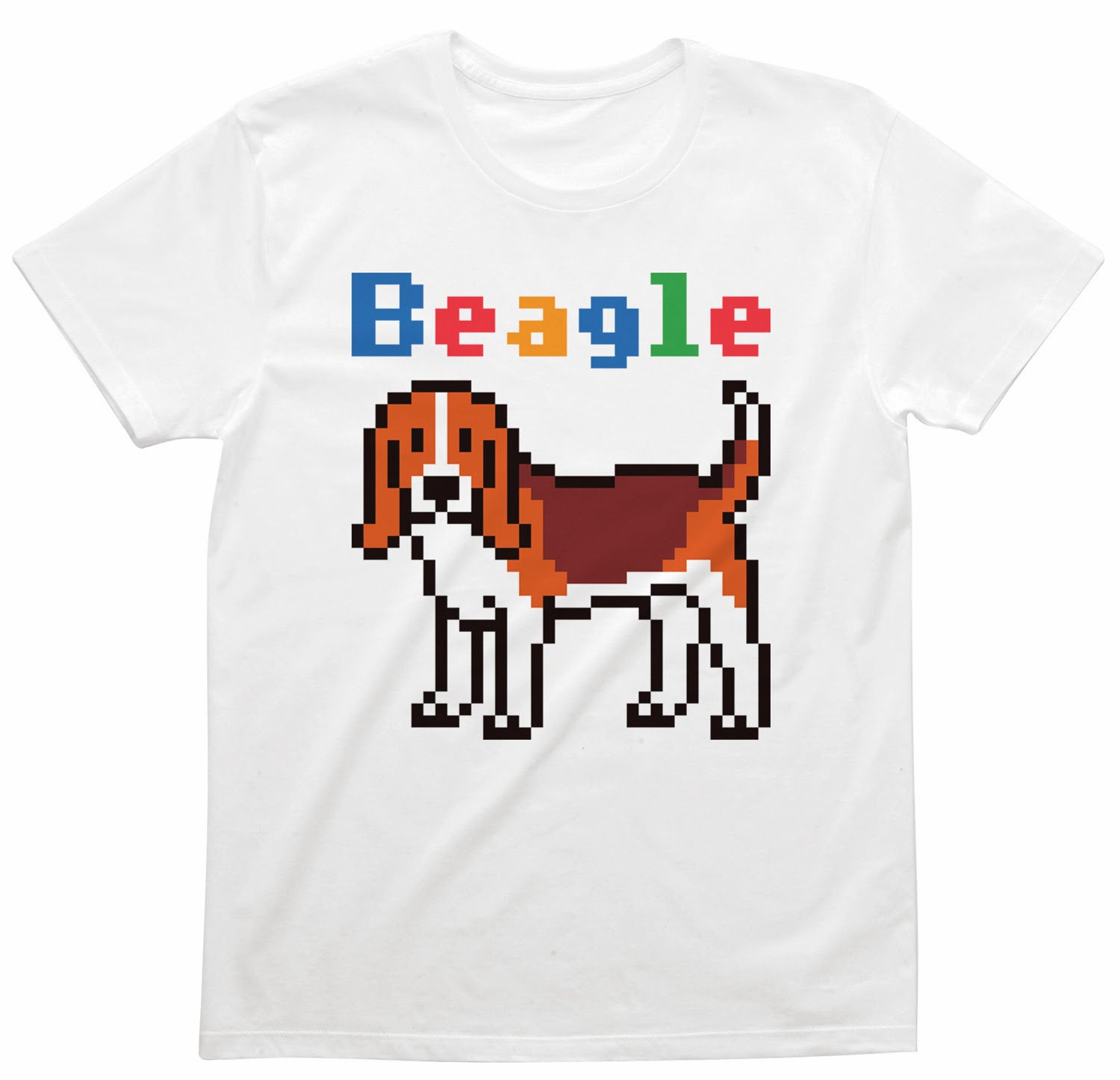 Pixel Party Boy「Beagle犬索」[Stylish unisex] 4.3oz | T-SHIRT COUNCIL