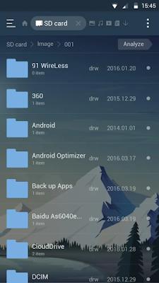 تحميل تطبيق ES Dawn لتغيير الثيم الافتراضي لتطبيق مدير الملفات ES File Explorer