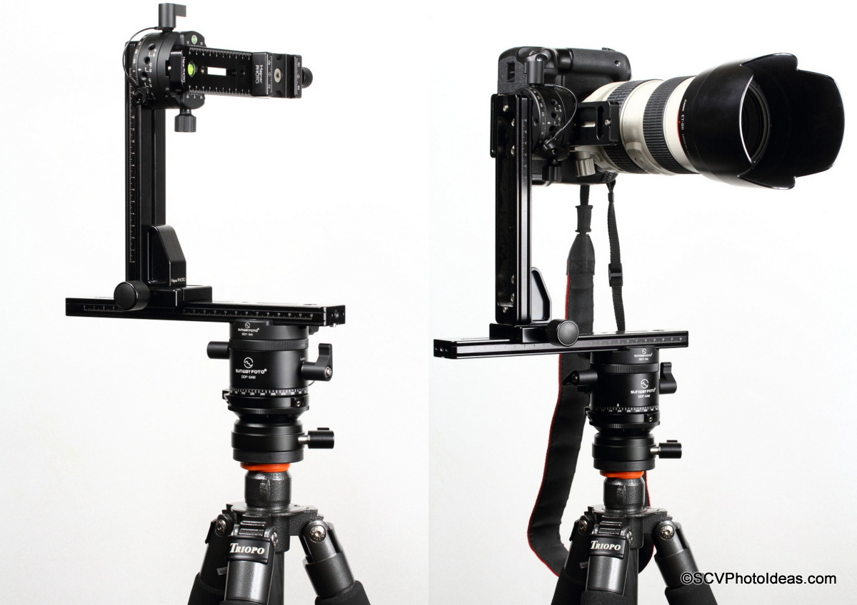 HDR Panorama head Assembly w/ Sunwayfoto rotators & Hejnar rails