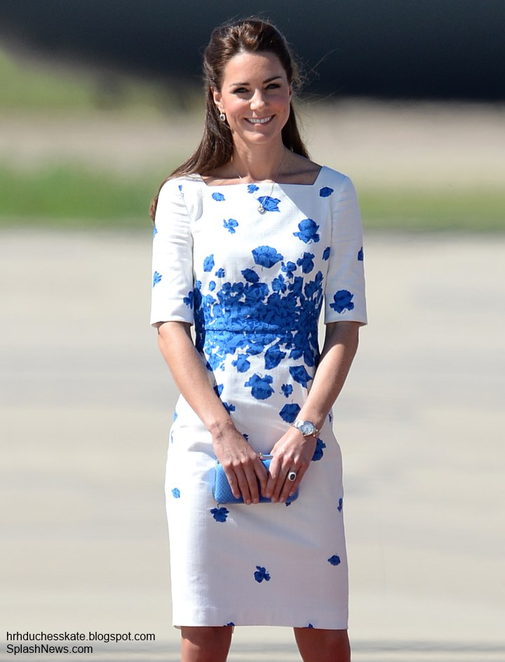 Duchess Kate: William, Kate & George Attend Special Air ...